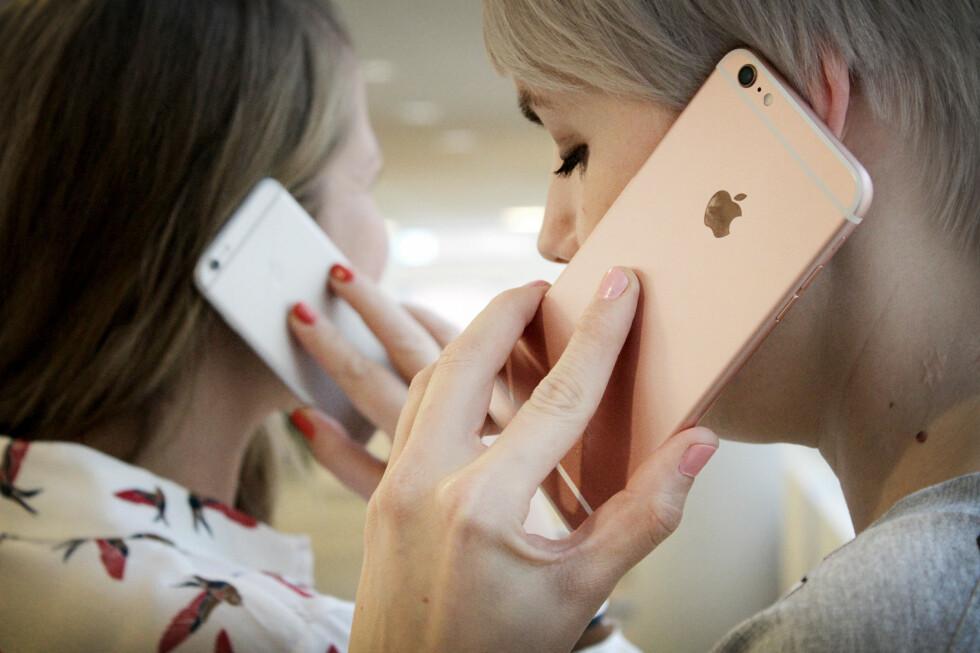 <strong><b>STØRST OG BEST:</strong></b> iPhone 6s Plus er Apples beste mobil til nå, men den er også den dyreste. Foto: OLE PETTER BAUGERØD STOKKE