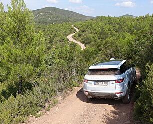 image: Dinside kjører Range Rover Evoque