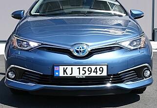 TEST: Toyota Auris facelift