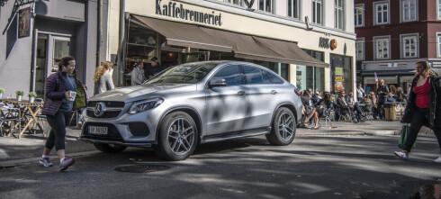Prøvekjørt: Mercedes-Benz GLE 350d Coupé