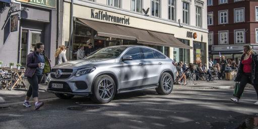image: Prøvekjørt: Mercedes-Benz GLE 350d Coupé