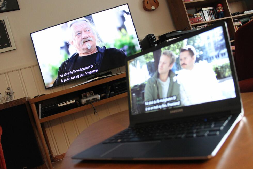 KAN VÆRE FRITATT: Ser du på NRK gjennom nettet, kan du slippe lisensen om du plomberer TV-en. Foto: OLE PETTER BAUGERØD STOKKE