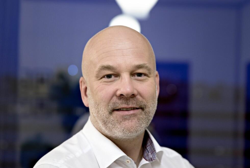 SISTE FRIST:  Kringkastingssjef Thor Gjermund Eriksen og NRK samler i disse tider inn den omdiskuterte kringkastingsavgiften.  Foto: NTB SCANPIX.