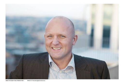 FØLG MED: Salgsdirektør i DNB Eiendom, Kent Victor Syverstad, råder boligkjøpere til å holde seg oppdatert på boligstatistikkene fra området de ønsker å kjøpe bolig. Foto: CF Wesenberg@kolonihaven.no