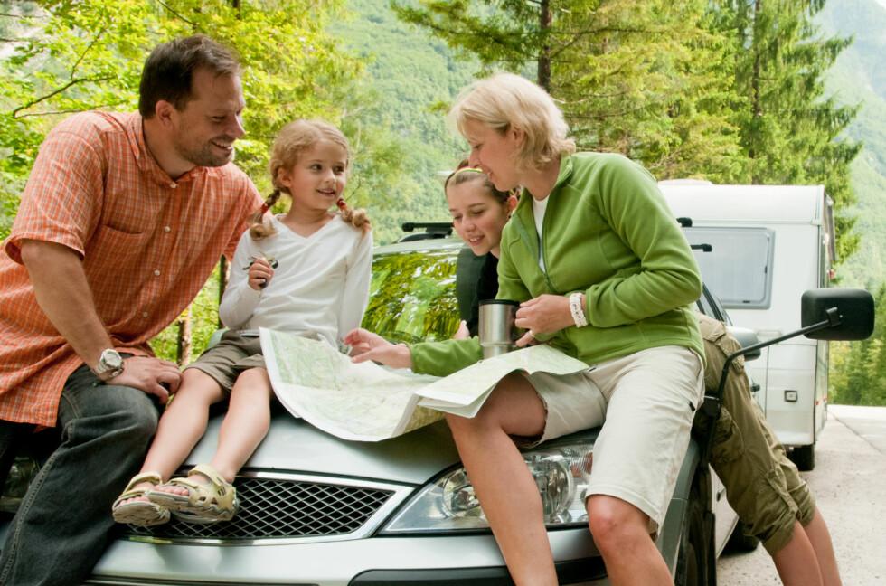 PLANLEGGING: God planlegging er grunnlaget for en god ferie. Mange stopp er heller ikke å forakte.  Foto: SHUTTERSTOCK