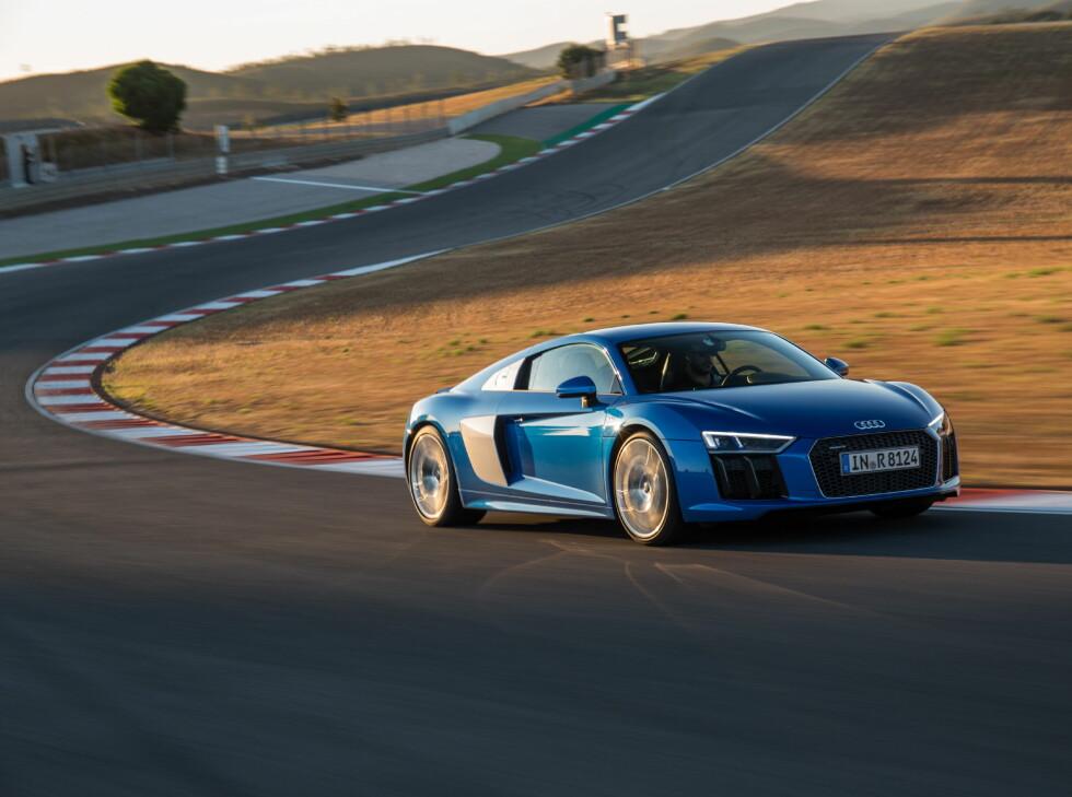 40 PROSENT STIVERE Utstrakt bruk av karbon har gjort bilen 40 prosent mer vridningsstabil. Foto: AUDI