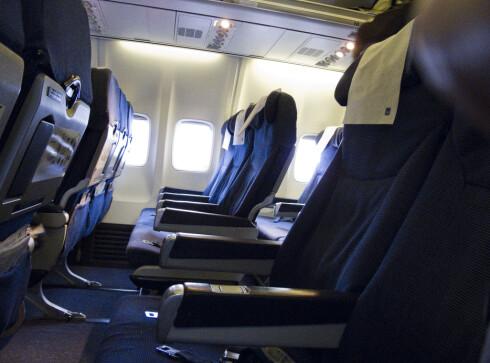 <strong><b> VANSKELIG:</strong> </b> Det er ikke alle som synes boarding-prosessen er like lett. Foto: Per Ervland