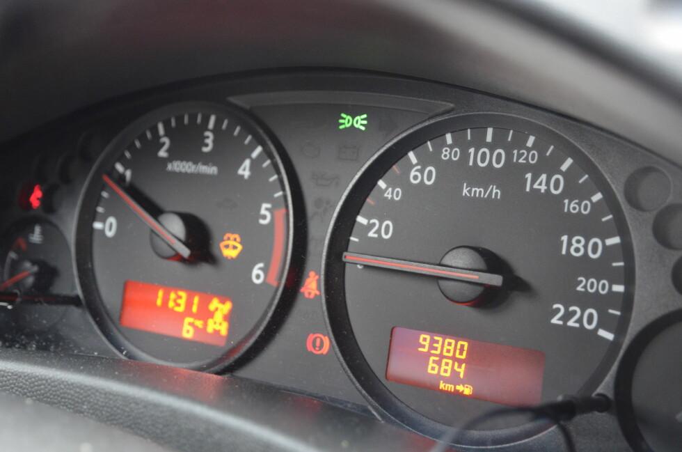 HUSK: Sjekk om du er på vei til å overskride antall kilometer - før ferien. Foto: DINSIDE