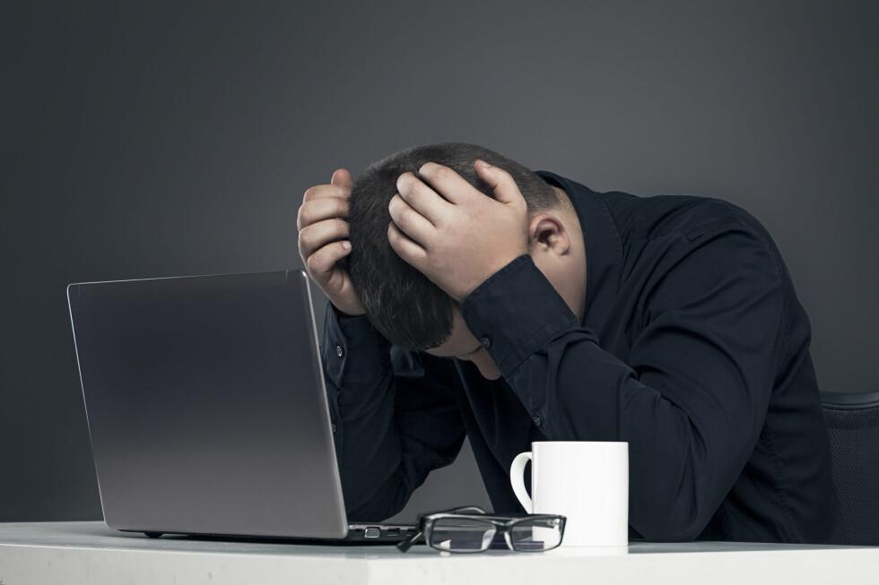 GLEMT DET? Heldigvis finnes det mange måter å finne passordet til det trådløse nettverket på. Foto: FOTOLIA / NTB SCANPIX