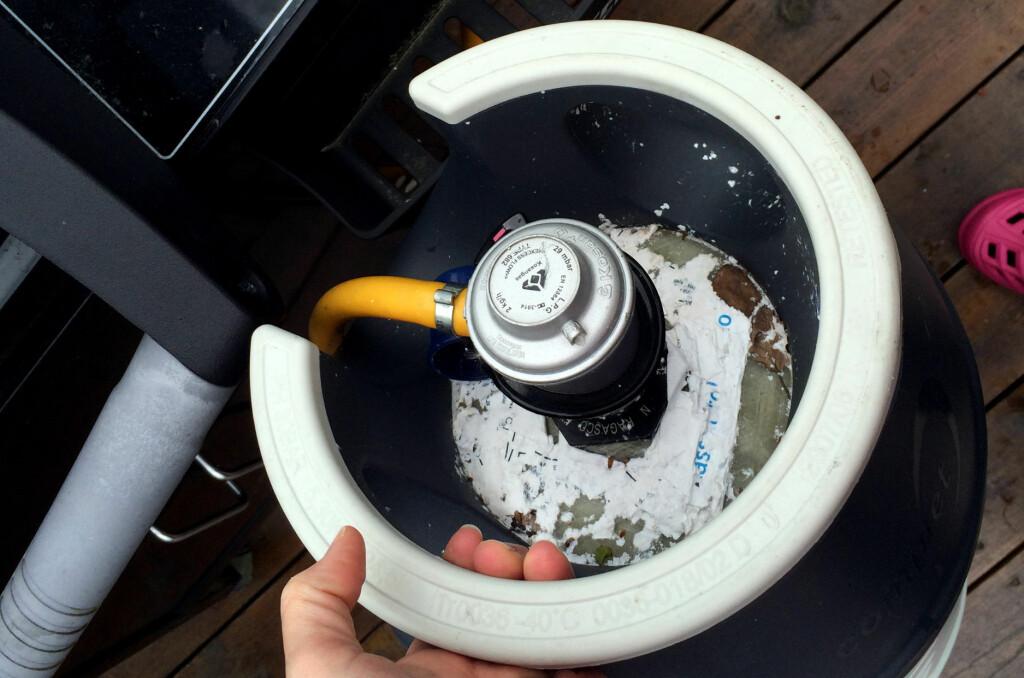 <b>FOR GAMLE GASSFLASKER:</b> Det er hundretusener gassflasker på det norske markedet som er for gamle i forhold til regelverket. Foto: KRISTIN SØRDAL