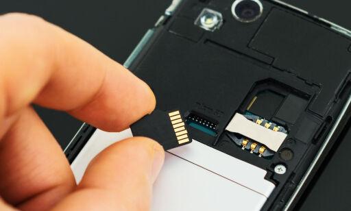 image: Flytt bilder, video og musikk til minnekortet