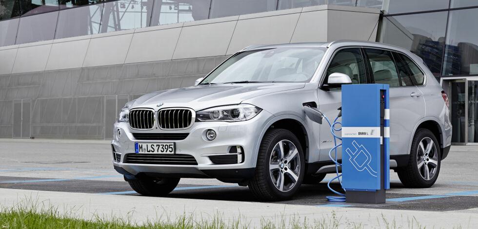 image: Test: BMW X5 xDrive 40e