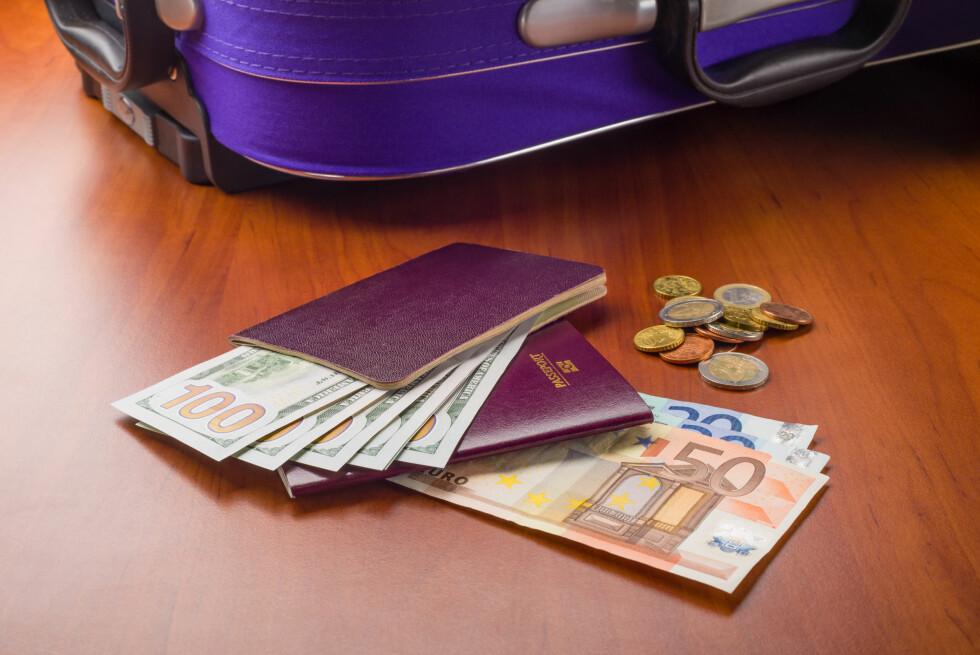 INGEN ERSTATNING: Har du pakket kontanter i kofferten, får du ingen erstatning dersom de forsvinner. Foto: NTB SCANPIX