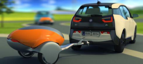 Batteri-tilhenger for elbilen