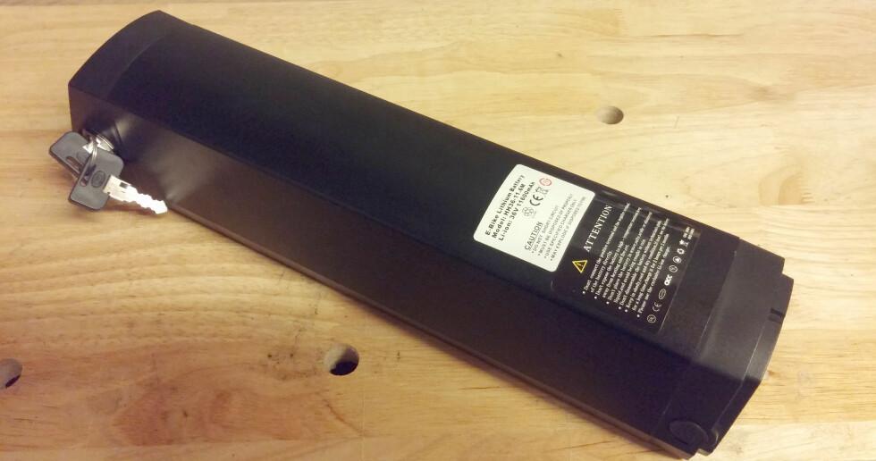 BATTERIET ER AVGJØRENDE. Hvis ikke batteriet klarer å levere strøm hjelper det ikke å ha den beste motoren.  Foto: BRYNJULF BLIX