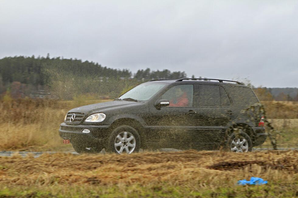 GAMMEL LUKSUS: Mercedes-Benz ML  Foto: AUTOFIL