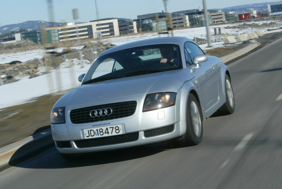 SPORT TIL MINIPRIS: Audi TT Foto: rune nesheim