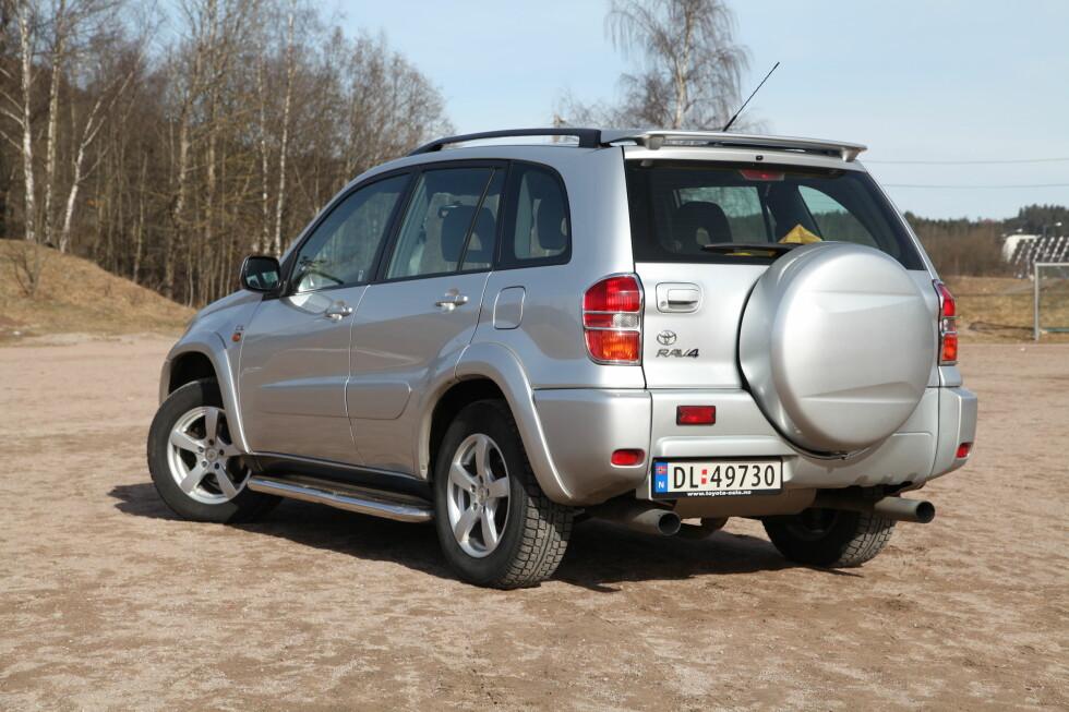 SIKKER VINNER: Toyota RAV4. Foto: KNUT ARNE MARCUSSEN