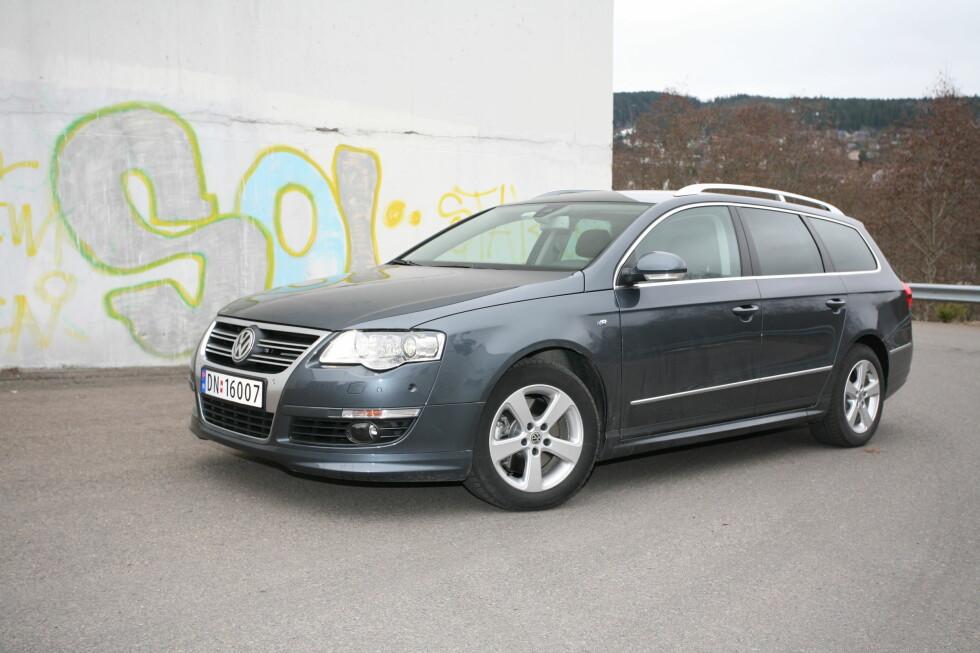FAMILIEBIL NR. 1: VW Passat Foto: ESPEN STENSRUD