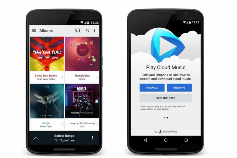 SMART: Å kunne spille av musikken din via både AirPlay og Chromecast-enheter vil nok være fristende for mange. Foto: DOUBLETWIST