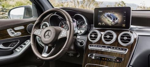 Lansert: Mercedes-Benz GLC