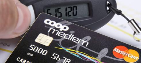 Pass på om du har et Coop MasterCard