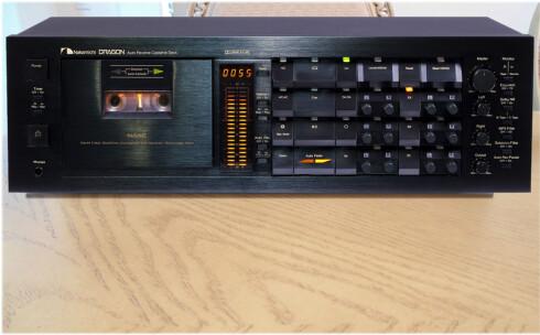 LANGT FRA DØD: Denne kassettspilleren går for godt over 20.000 på bruktmarkedet. Foto: AUDIO MARKT