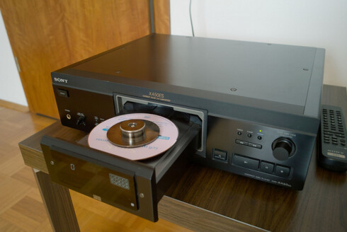 RIKTIG SERIE: Sonys CD-spillere i ES-serien er spesielt attraktive. Foto: FLICKR