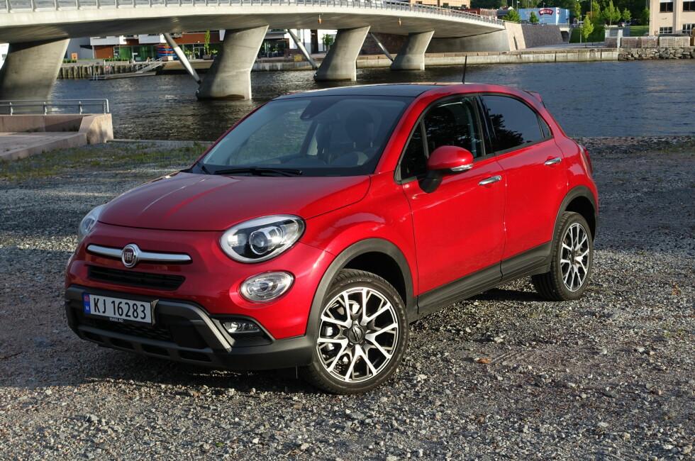 EN NY EPOKE: Med 500X vil Fiat starte en ny epoke for Fiat. Foto: KNUT ARNE MARCUSSEN