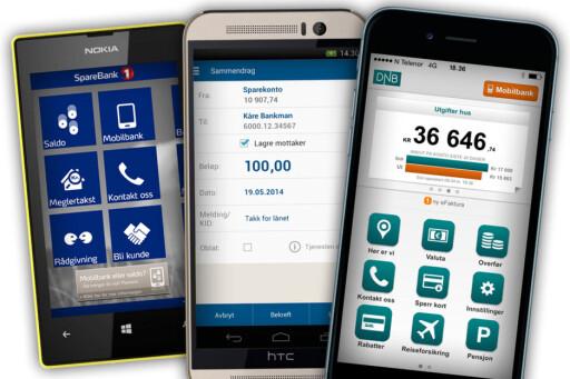 ENKLERE: Vi liker ikke kontanter, så blant annet vennebetaling via mobilen kan være én innfallsvinkel som kan bli populært. Enten via egne tjenester som Vipps og mCash, eller med mobilbanken. Foto: OLE PETTER BAUGERØD STOKKE