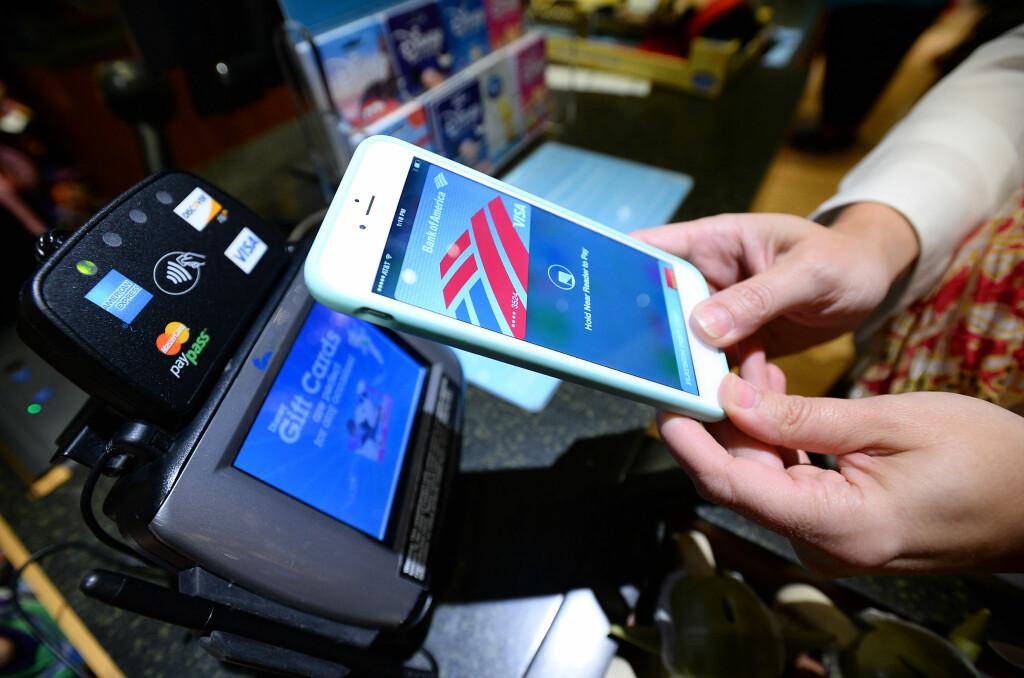 <b>DRØM VIDERE: </b>Du vil nok få muligheten til å handle mye med mobilen før 2020. Men at det skal bli normen før den tid, tror ikke SIFO-forskeren. Foto: AP / NTB SCANPIX