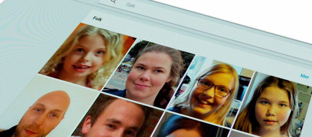 <strong>FOLK:</strong> Googles ansiktsgjenkjenning er <em>egentlig</em> ikke tilgjengelig i Norge, men som med så mye annet –det finnes et triks. Foto: PÅL JOAKIM OLSEN