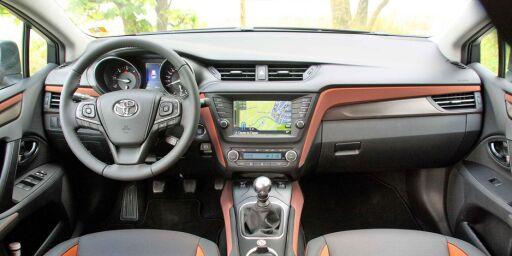image: Vi har kjørt fornyet Toyota Avensis