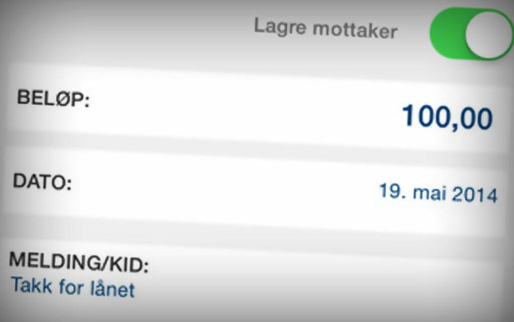 VENNEBETALING: Med Nordea. Foto: NORDEA