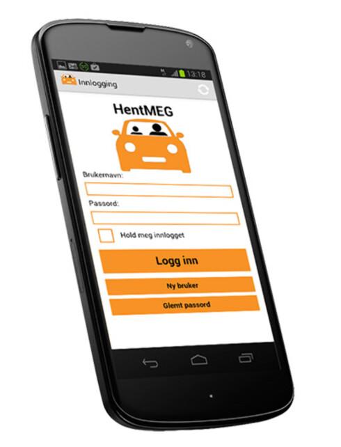NYTTIG: Denne appen kan bli nyttig om du vil spare tid på å kjøre i kollektivfeltet.  Foto: HENTMEG