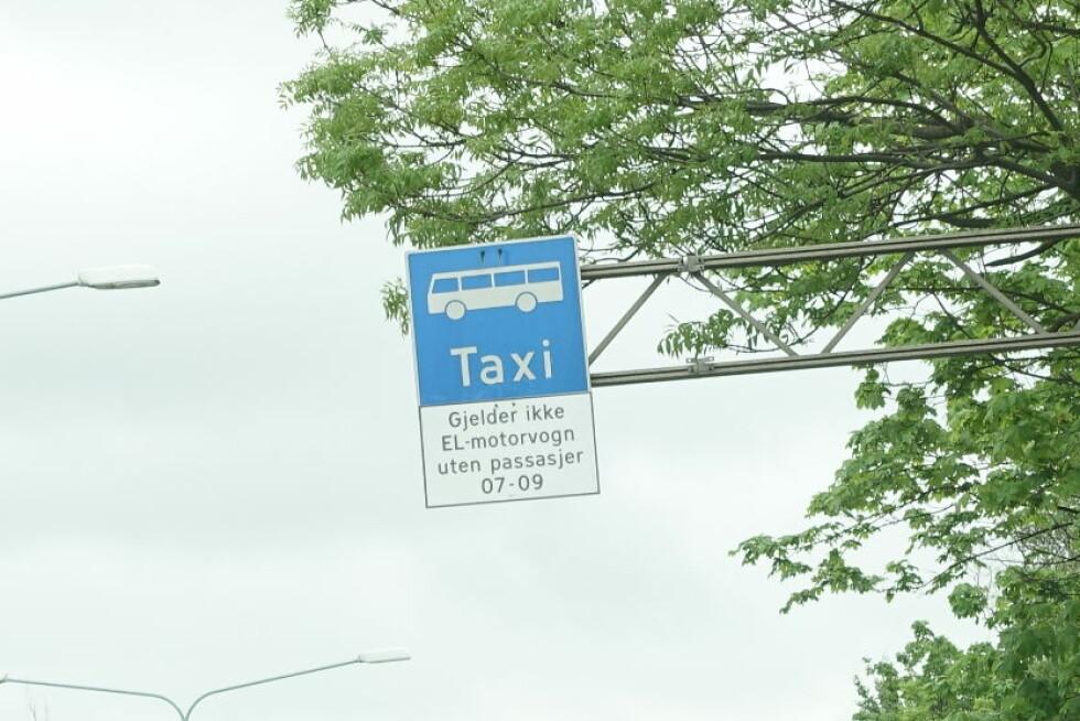 SAMKJØRING: Nå må man være minst to personer for å få tilgang til kollektivfeltet med elbil. Foto: KNUT ARNE MARCUSSEN
