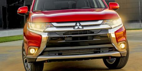 Mitsubishi Outlander fornyes