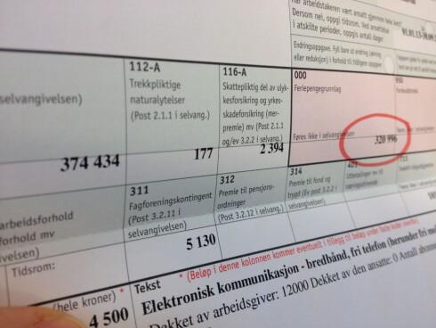 HVOR MYE? Sjekk feriepengegrunnlaget på årsoppgaven fra arbeidsgiveren, eller prøv vår kalkulator. Foto: BERIT B. NJARGA