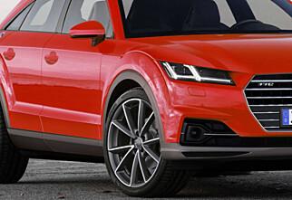 Audi TT for lav? Sjekk Audi TTQ!