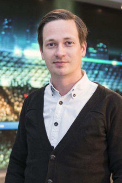 Øystein Hygen Christensen er informasjonssjef i Viasat.