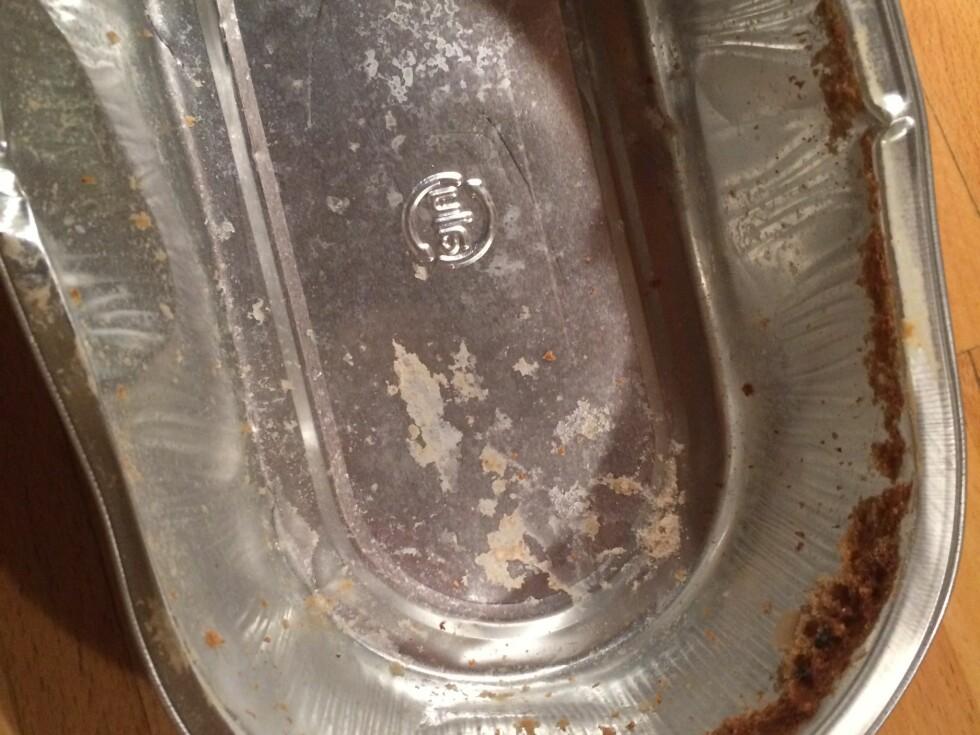 LITE SVINN: Brødet løsnet lett fra formen.  Foto: ELISABETH DALSEG