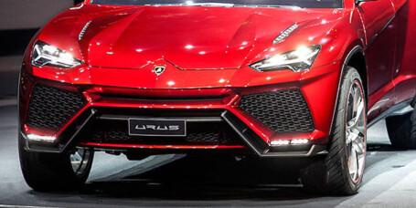 Lamborghini Urus strekker grensene