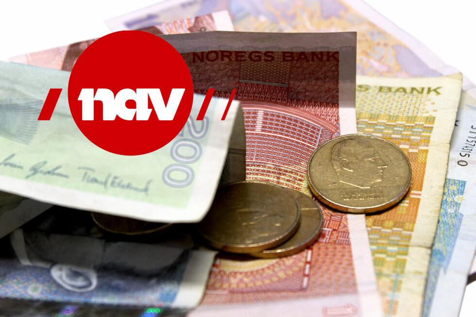 NAV? Sjekk hvem som får utbetalt feriepenger fra NAV i slutten av mai. Foto: OLE PETTER BAUGERØD STOKKE