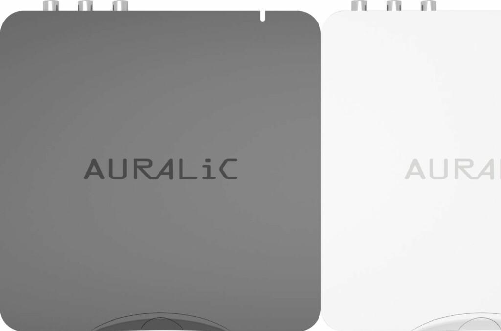 <b>PRIS-SENSASJON:</b> Denne ny boksen fra Aurelic forventes å koste rundt 5000 kroner når den kommer til Norge i slutten av juni. Aries Mini er strømmer og digital-analog-omformer (dac) i ett. Foto: TORE NESET