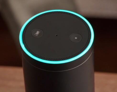 «ALEXA»: Ved å snakke til Amazon Echo kan du få svar på det meste.  Foto: AMAZON