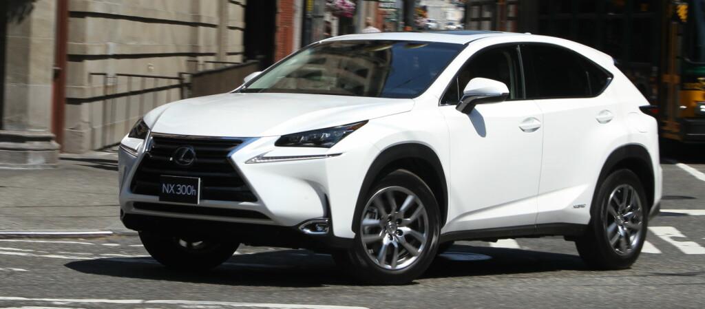 <b>KRAFTIG VEKST:</b> Med SUV'en NX som nytt tilskudd har Lexus vokst ytterligere.  Foto: Espen Stensrud