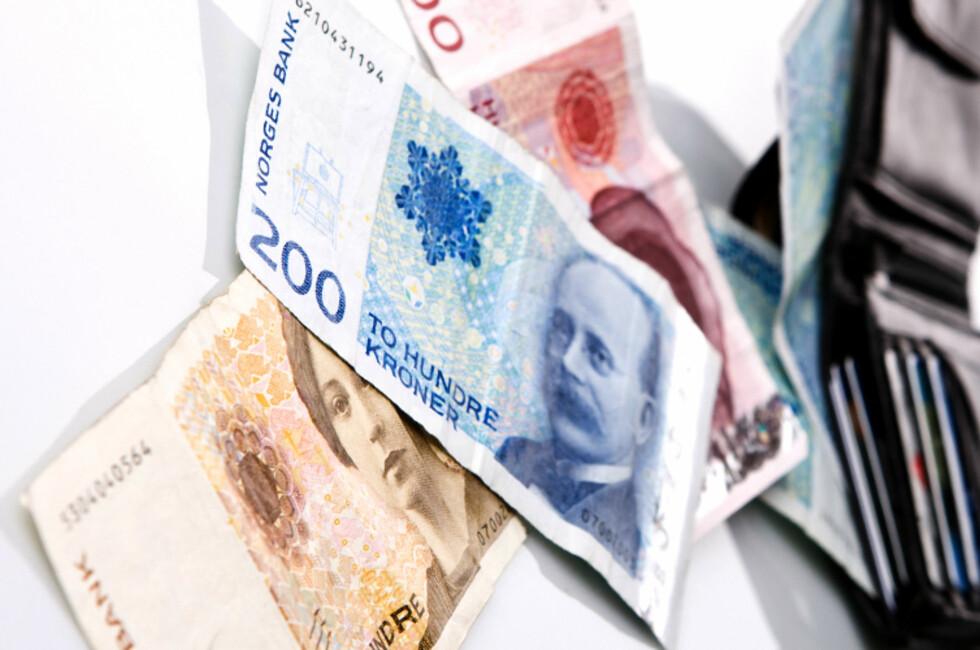 NEI TAKK? Får NHO Reiseliv det som de vil, skal bedrifter kunne nekte kundene å bruke kontanter. Foto: COLOURBOX.COM