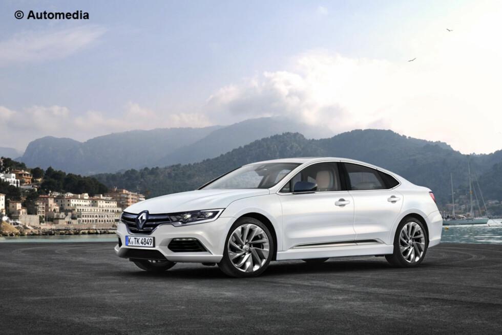MER SERIØS: Renault Laguna kommer allerede til neste år. Foto: AUTOMEDIA