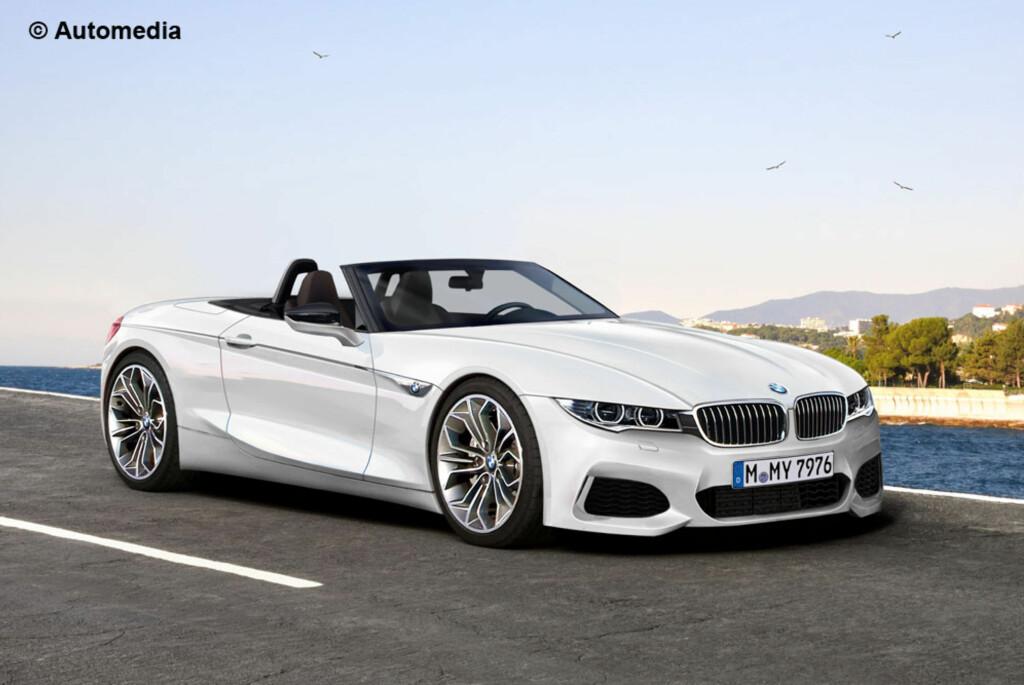 BMW Z5 ROADSTER: Frukt av Toyota-samarbeidet. Dette blir det spennende å komme tilbake til! Foto: AUTOMEDIA
