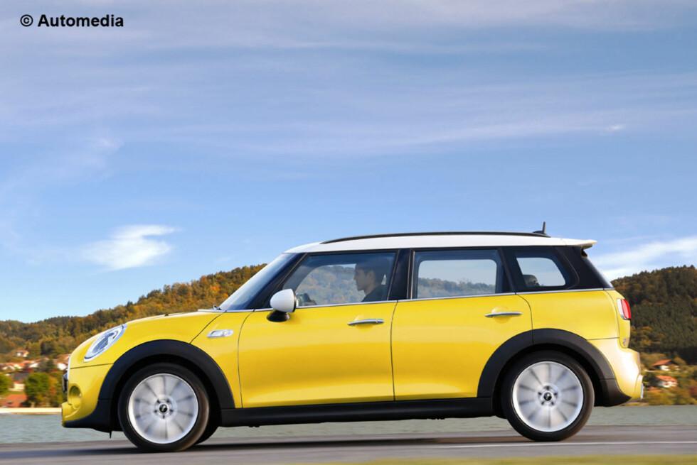 NATURLIGVIS: Selvsagt kommer også nyeste Mini som Clubman - antakelig til høsten, i Frankfurt. Foto: AUTOMEDIA